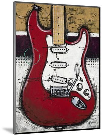 Electric Red-Bruce Langton-Mounted Premium Giclee Print