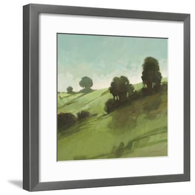 Knoll View 3 Square-DB Edwards-Framed Art Print