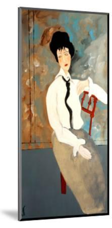 Modigliani Woman with White Blouse, 2016-Susan Adams-Mounted Giclee Print