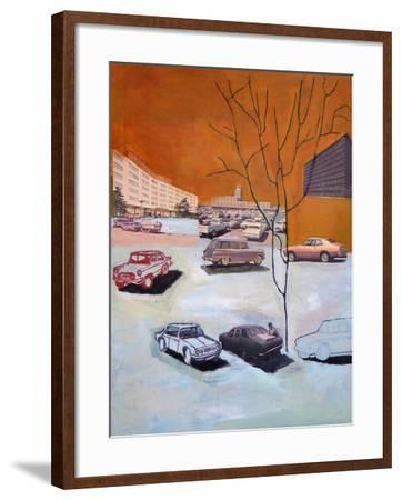 Parked, 2015-Anastasia Lennon-Framed Giclee Print