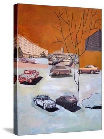Parked, 2015-Anastasia Lennon-Stretched Canvas Print