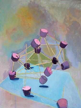 Stable Structure, 2016-Anastasia Lennon-Stretched Canvas Print
