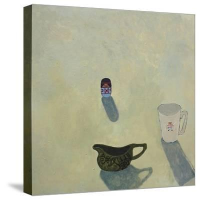Still Life with Cobweb Jug, 2015-Anastasia Lennon-Stretched Canvas Print