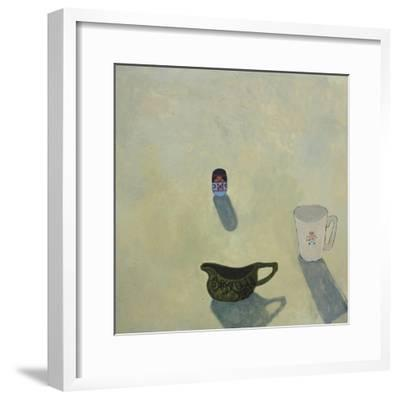 Still Life with Cobweb Jug, 2015-Anastasia Lennon-Framed Giclee Print