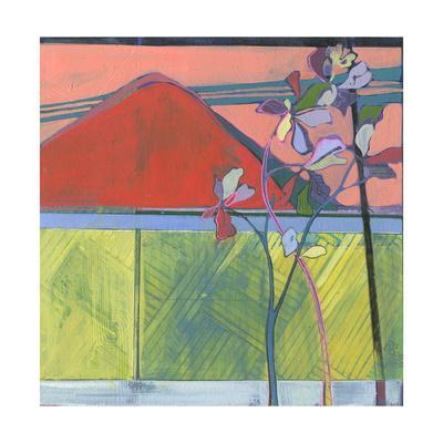 Over the Fence-Charlotte Evans-Framed Giclee Print
