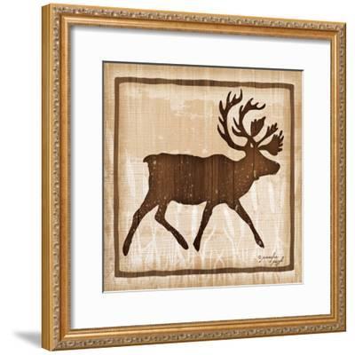 Elk-Jennifer Pugh-Framed Art Print