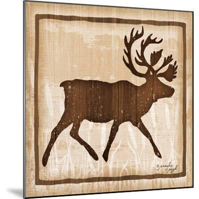 Elk-Jennifer Pugh-Mounted Art Print