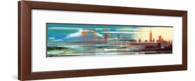 Buildings and Seascape II-Stuart Roy-Framed Art Print