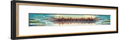 Buildings and Seascape I-Stuart Roy-Framed Art Print