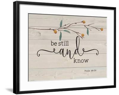Be Still and Know-Jo Moulton-Framed Art Print