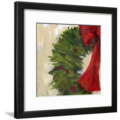 Wreath II-Pamela J. Wingard-Framed Art Print