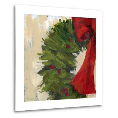Wreath II-Pamela J. Wingard-Metal Print