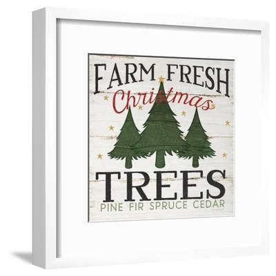 Farm Fresh Christmas Trees.Farm Fresh Christmas Trees Art Print By Jennifer Pugh Art Com