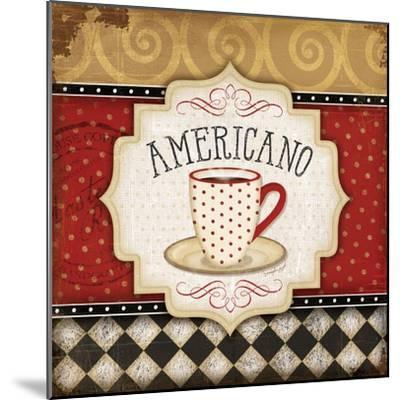 Americano-Jennifer Pugh-Mounted Art Print