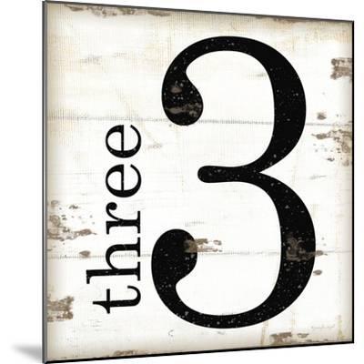 Farmhouse Three 3-Jennifer Pugh-Mounted Premium Giclee Print