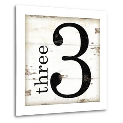 Farmhouse Three 3-Jennifer Pugh-Metal Print