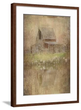 The Old Cope Place-Ramona Murdock-Framed Art Print