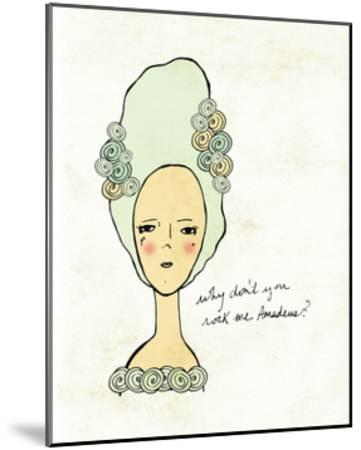 Amadeus-Lisa Barbero-Mounted Art Print
