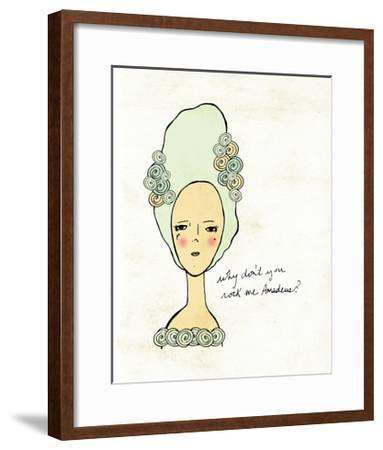 Amadeus-Lisa Barbero-Framed Art Print