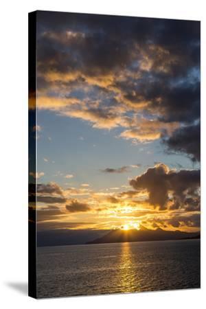 Sunset Above the Isle of Skye, Scotland-Jonathan Irish-Stretched Canvas Print