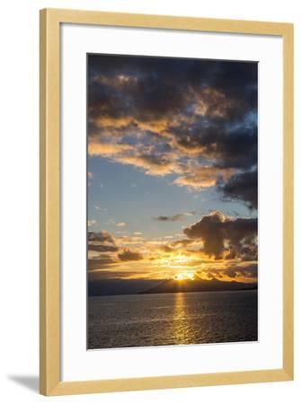 Sunset Above the Isle of Skye, Scotland-Jonathan Irish-Framed Photographic Print