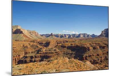 An Aerial View of the Grand Canyon, in Arizona-Mike Theiss-Mounted Photographic Print