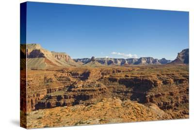 An Aerial View of the Grand Canyon, in Arizona-Mike Theiss-Stretched Canvas Print