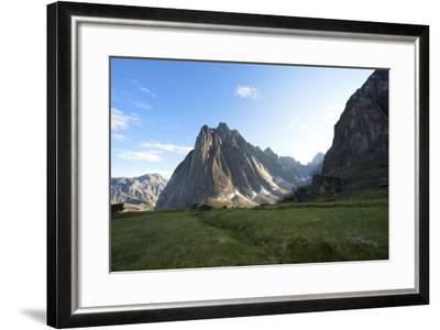 Mount Harrison Smith in the Cirque of the Unclimbables-Chad Copeland-Framed Photographic Print
