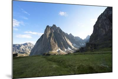 Mount Harrison Smith in the Cirque of the Unclimbables-Chad Copeland-Mounted Photographic Print
