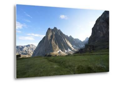 Mount Harrison Smith in the Cirque of the Unclimbables-Chad Copeland-Metal Print