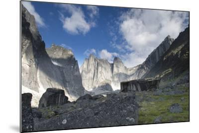 Lotus Flower Tower in Cirque of the Unclimbables-Chad Copeland-Mounted Photographic Print