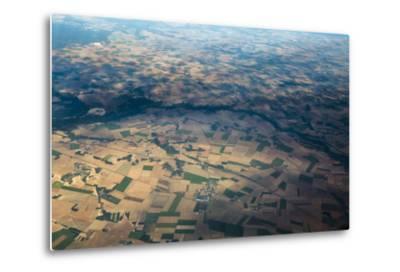 Fields and Villages of Rural France's Ile-De-France Region-Kent Kobersteen-Metal Print