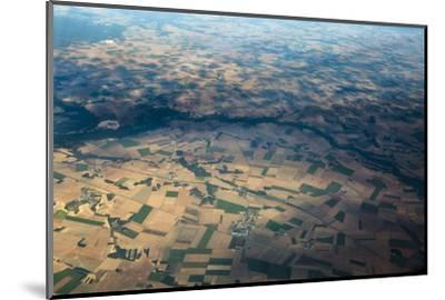 Fields and Villages of Rural France's Ile-De-France Region-Kent Kobersteen-Mounted Photographic Print