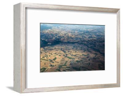 Fields and Villages of Rural France's Ile-De-France Region-Kent Kobersteen-Framed Photographic Print