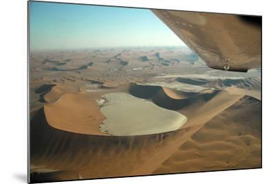 Aerial View of Sand Dunes of Namibia-Anne Keiser-Mounted Photographic Print