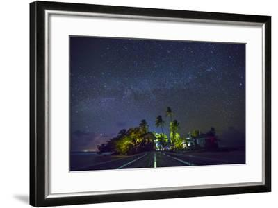 Carrie Bow Caye and its Remote Island Field Station Managed by the Smithsonian Instituion-Clare Fieseler-Framed Photographic Print