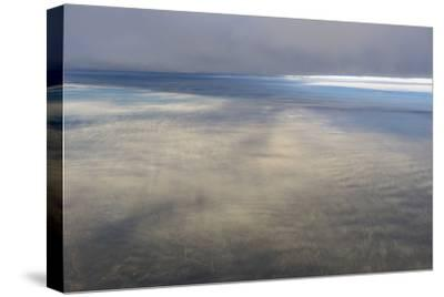 Clouds Outside the Airplane Window Coming in to Land in Atlanta, Georgia-Stephen Alvarez-Stretched Canvas Print
