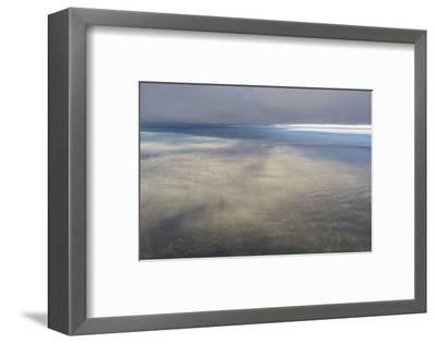 Clouds Outside the Airplane Window Coming in to Land in Atlanta, Georgia-Stephen Alvarez-Framed Photographic Print