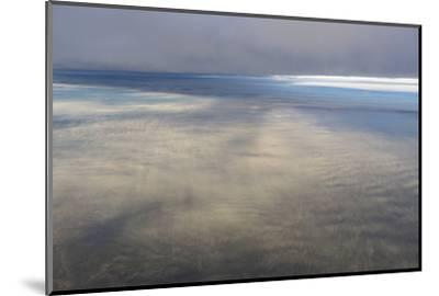 Clouds Outside the Airplane Window Coming in to Land in Atlanta, Georgia-Stephen Alvarez-Mounted Photographic Print