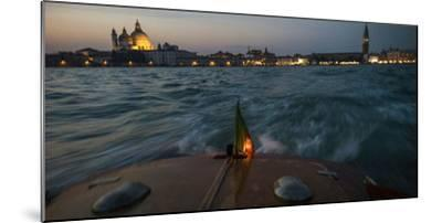 The Piazza San Marco from a Water Taxi on the Giudecca Canal-Stephen Alvarez-Mounted Photographic Print