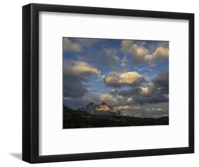The Cordillera Paine Mountain in Torres Del Paine National Park on the Right-Jay Dickman-Framed Photographic Print