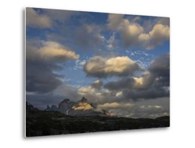 The Cordillera Paine Mountain in Torres Del Paine National Park on the Right-Jay Dickman-Metal Print