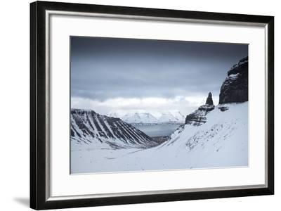 View to the Sea from Inside a Fjord-Chad Copeland-Framed Photographic Print