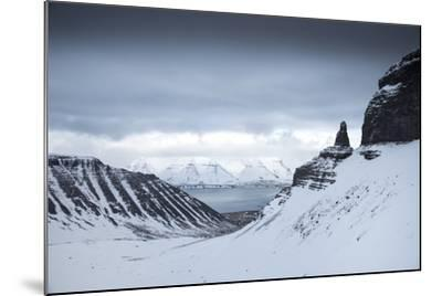 View to the Sea from Inside a Fjord-Chad Copeland-Mounted Photographic Print