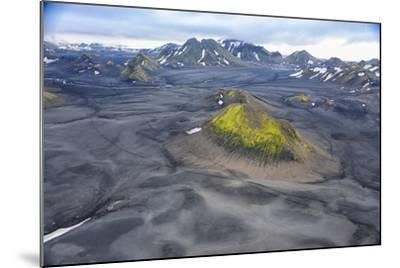 An Aerial View of a Canyon in the Interior of Southern Iceland-Keith Ladzinski-Mounted Photographic Print