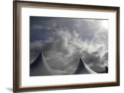 Tents Against Sky-Tyrone Turner-Framed Photographic Print