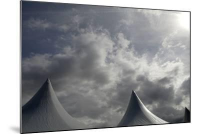 Tents Against Sky-Tyrone Turner-Mounted Photographic Print