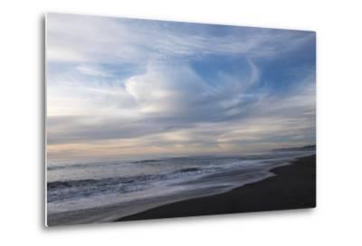Sunset on Gold Bluffs Beach at Prairie Creek Redwoods State Park-Krista Rossow-Metal Print