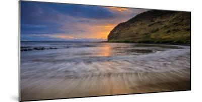Halawa Beach on Molokai's East End-Richard A^ Cooke-Mounted Photographic Print