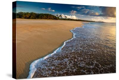 Sunset Above Papohaku Beach on Molokai's West End-Richard A^ Cooke-Stretched Canvas Print
